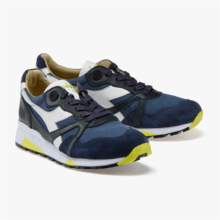Diadora Heritage - Scarpe - Sneakers - n9000 h c sw blu denim 1