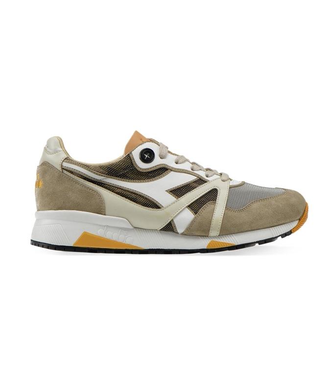 Diadora Heritage - Scarpe - Sneakers - n9000 h hide camo moon rock grey