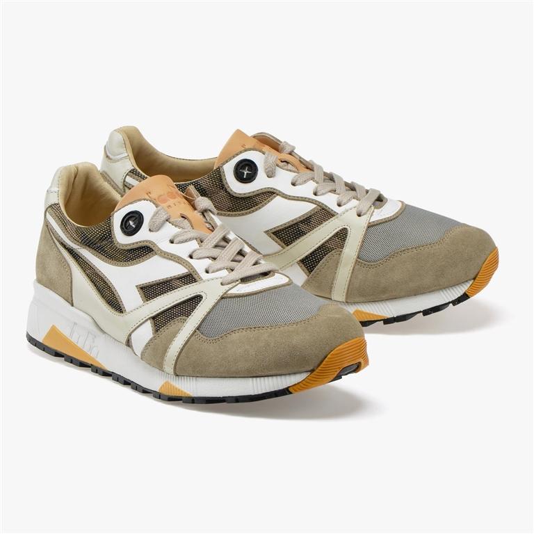 Diadora Heritage - Scarpe - Sneakers - n9000 h hide camo moon rock grey 1