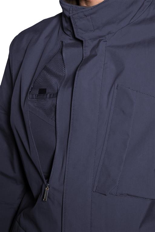 Duno - Giubbotti - field jacket nebula blu 1