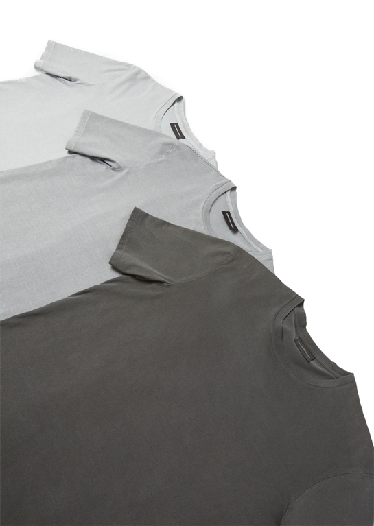 Emporio Armani - T-Shirt - set da 3 t-shirt in jersey di cotone grey 1