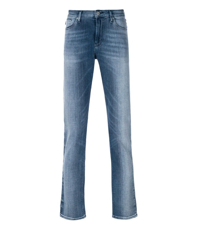 Emporio Armani - Jeans - JEANS J06 SLIM FIT IN DENIM STONE WASHED