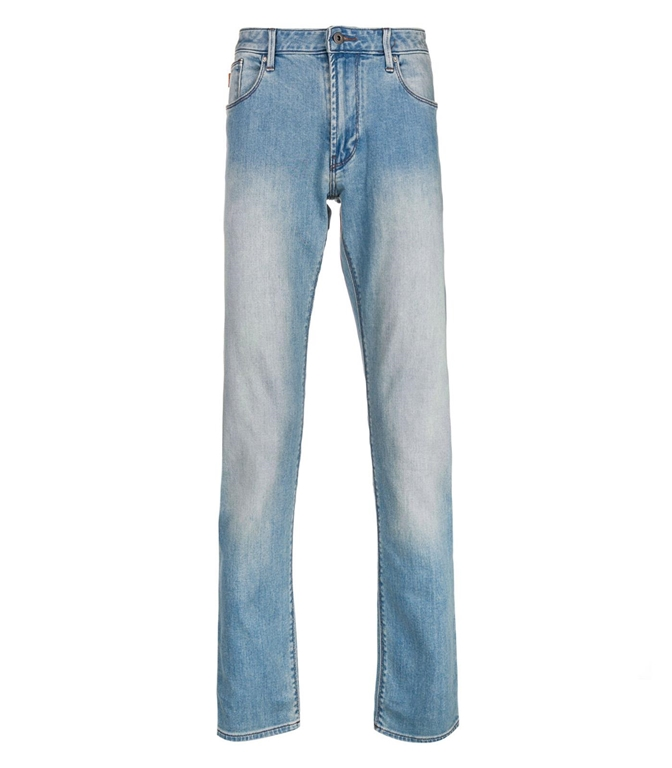 Emporio Armani - Saldi - jeans j06 slim fit in denim chiaro
