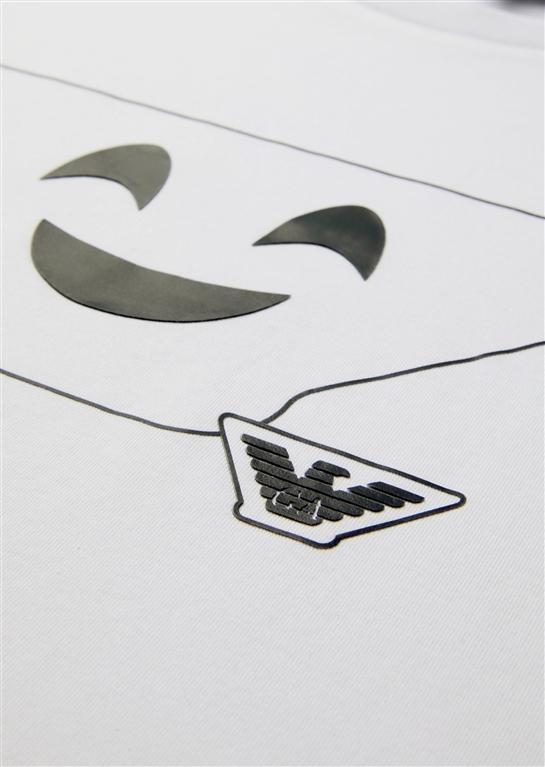 Emporio Armani - Saldi - t-shirt in cotone white 1
