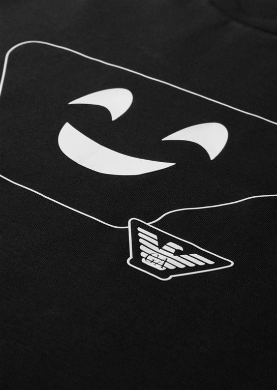Emporio Armani - T-Shirt - t-shirt in cotone black 1