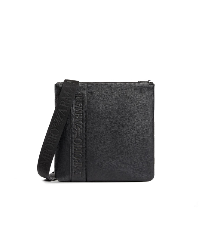 Emporio Armani - Borse - PATTINA A TROCOLLA IN SIMILPELLE BLACK