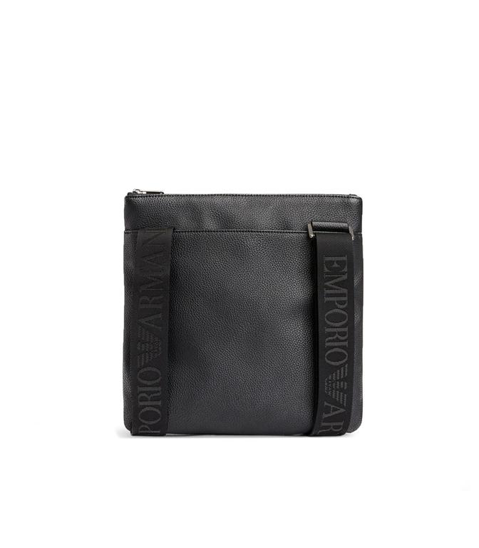 Emporio Armani - Borse - pattina a trocolla in similpelle black 1