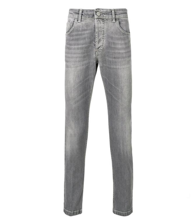Entre Amis - Saldi - jeans cinque tasche corto grigio