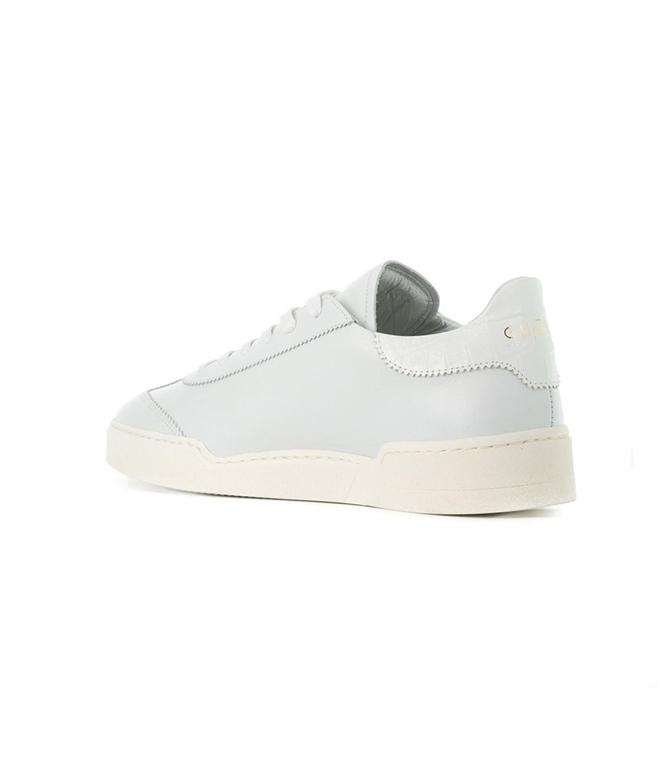 Ghoud - Scarpe - Sneakers - sneaker in pelle liscia white/cocco white 1