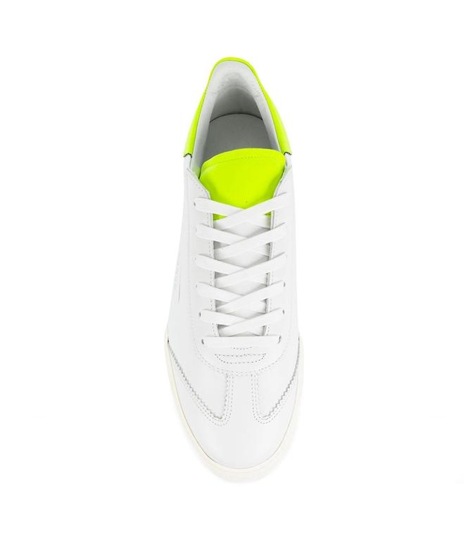 Ghoud - Scarpe - Sneakers - sneaker in pelle liscia white/fluo 1