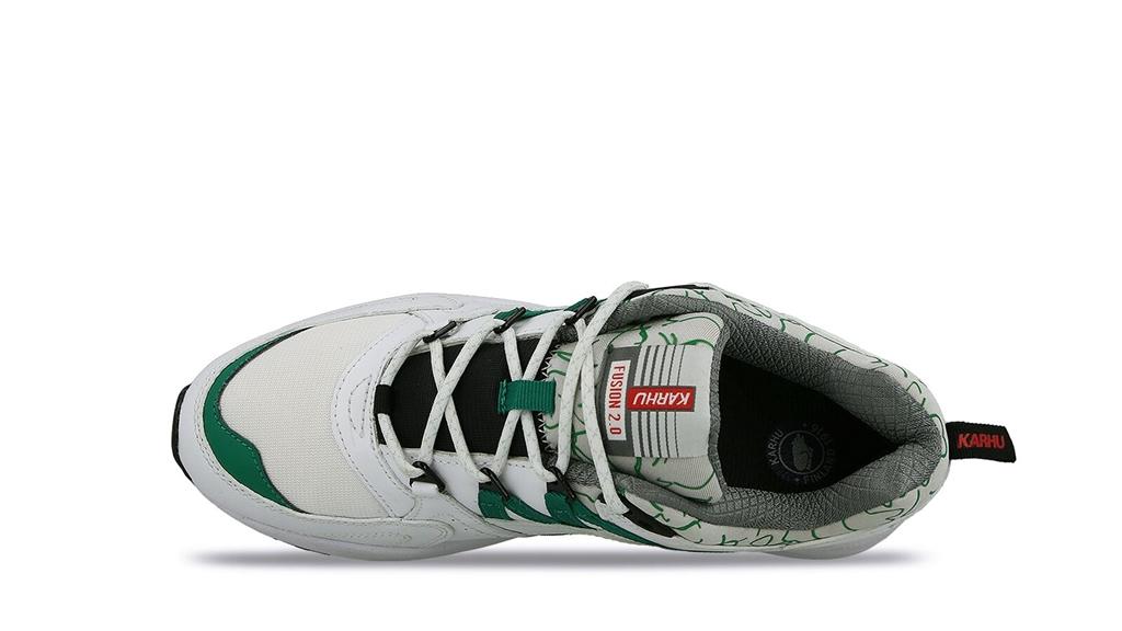 "Karhu - Scarpe - Sneakers - sneaker fusion 2.0""og"" white/ultramarine green 2"
