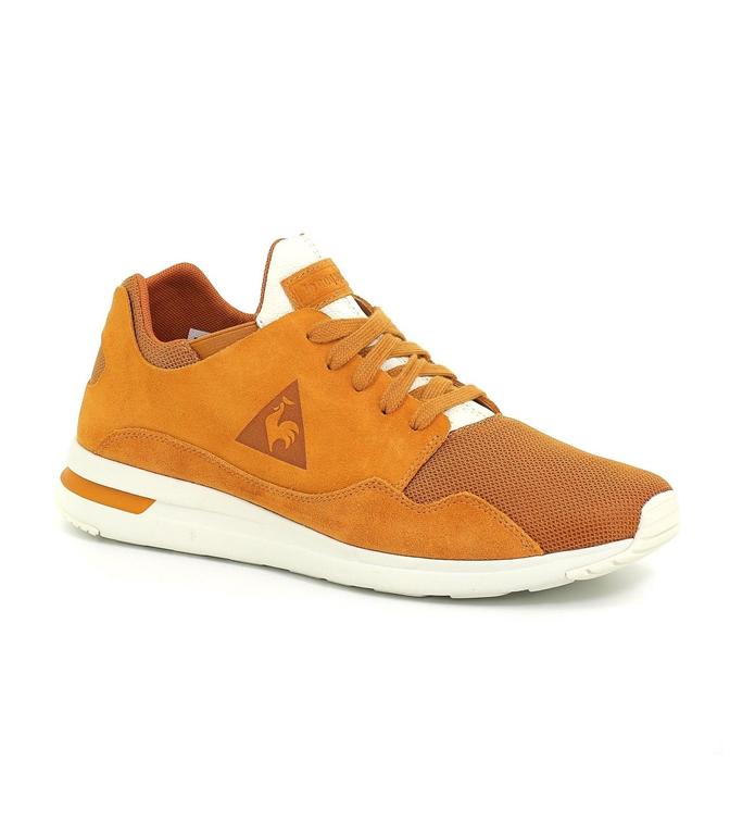 Le Coq Sportif - Scarpe - Sneakers - lcs r pure suede/tech mesh sudan brown