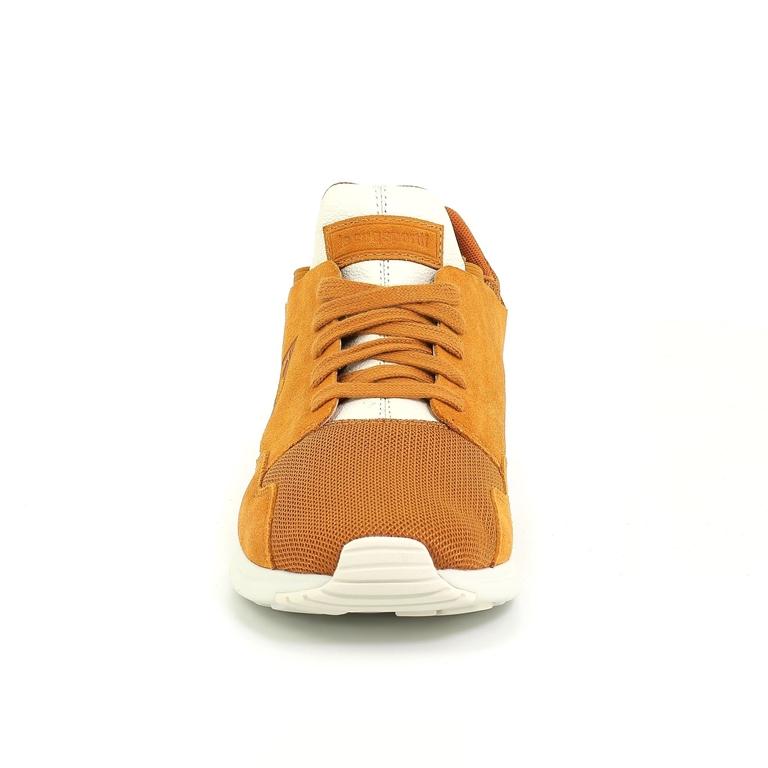 Le Coq Sportif - Scarpe - Sneakers - lcs r pure suede/tech mesh sudan brown 1