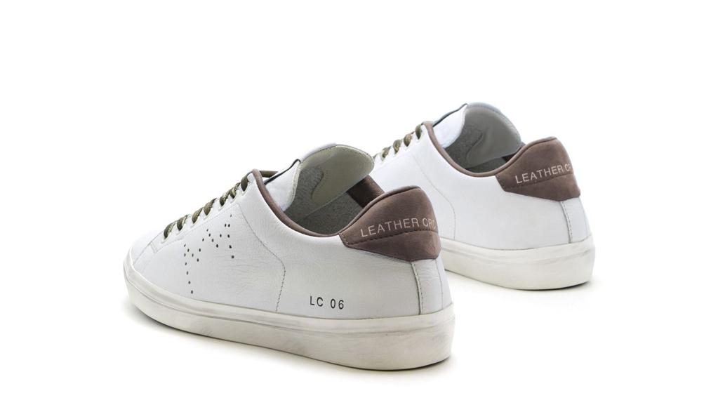 Leather Crown - Scarpe - Sneakers - sneaker mlc06 white 1