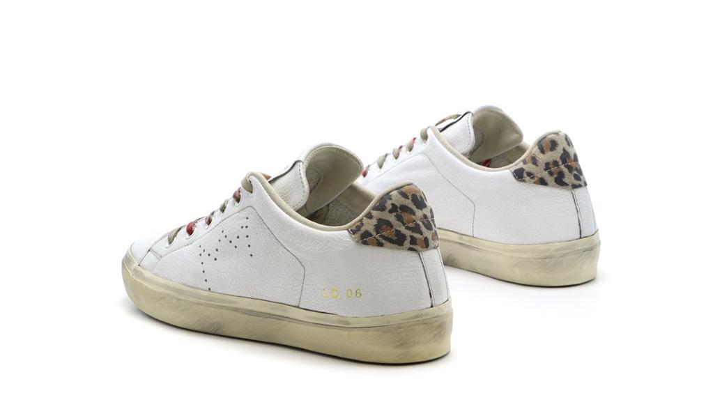 Leather Crown - Scarpe - Sneakers - sneaker mlc06 white 2