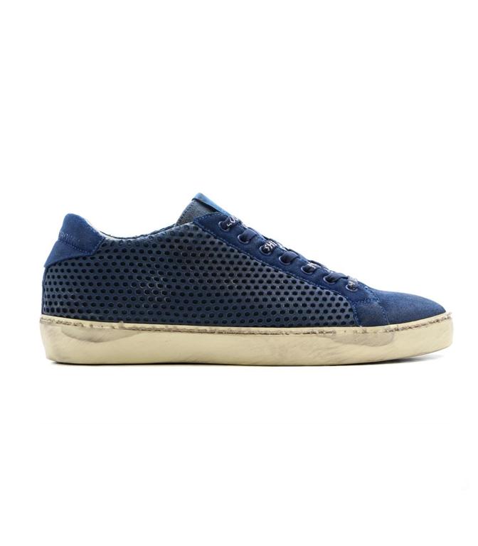 Leather Crown - Scarpe - Sneakers - SNEAKER MLC83 BLU