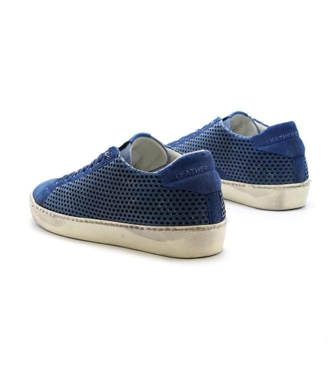 Leather Crown - Scarpe - Sneakers - sneaker mlc83 blu 2
