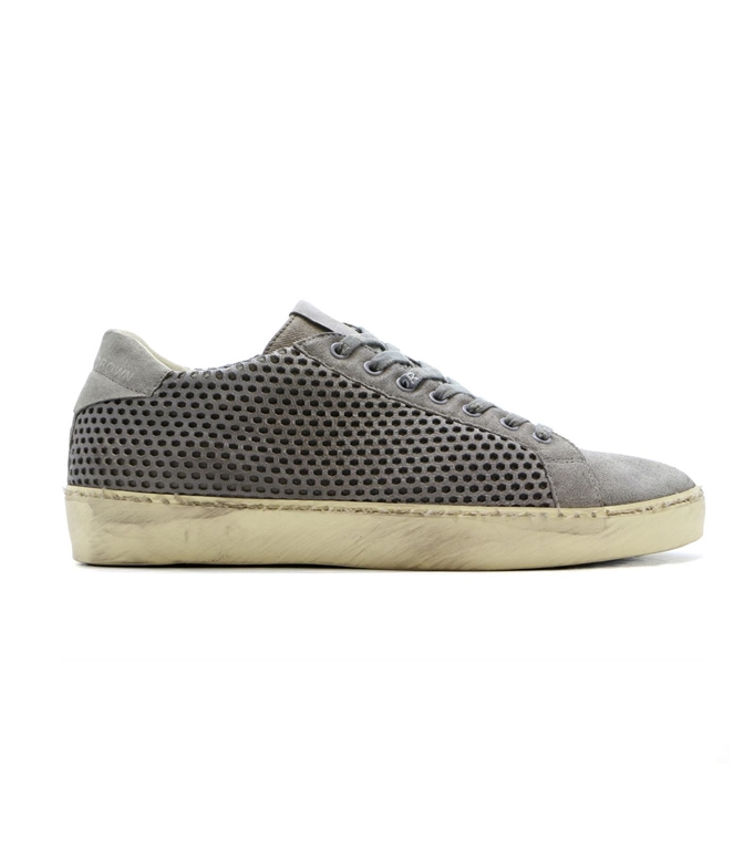 Leather Crown - Outlet - sneaker mlc83 traforata grey