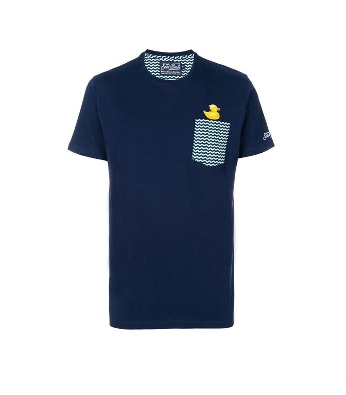 Mc2 Saint Barth - T-Shirt - t-shirt con taschino