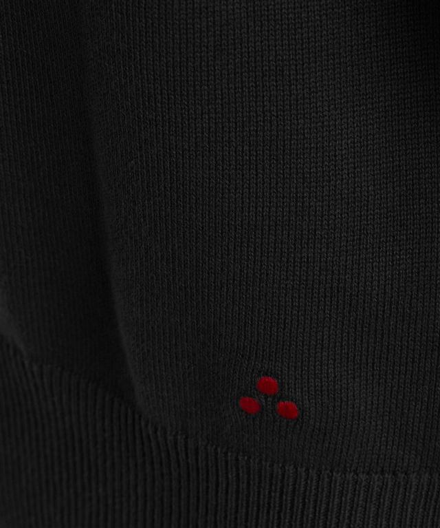 Peuterey - Maglie - maglia in cotone tricot nera 1