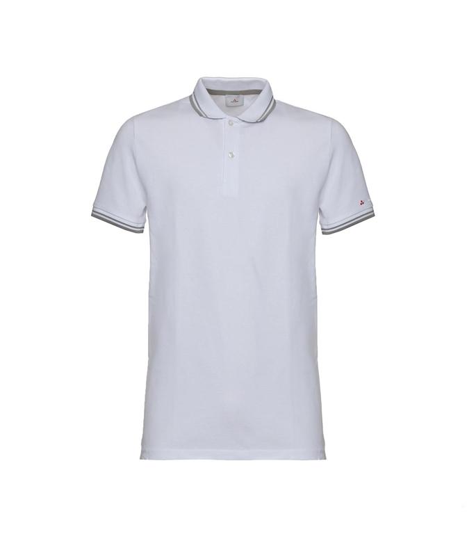 Peuterey - Polo - polo in cotone stretch bianca