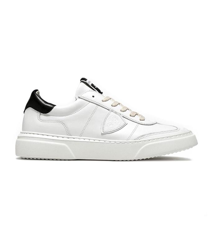 Philippe Model - Scarpe - Sneakers - sneaker in pelle temple blanc/noir