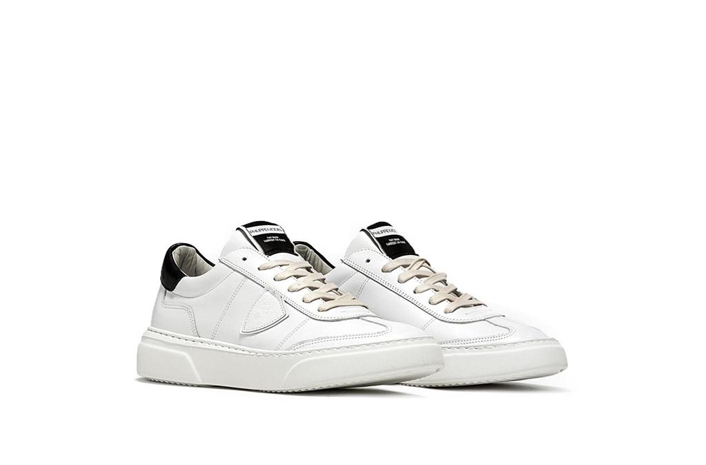Philippe Model - Scarpe - Sneakers - sneaker in pelle temple blanc/noir 1