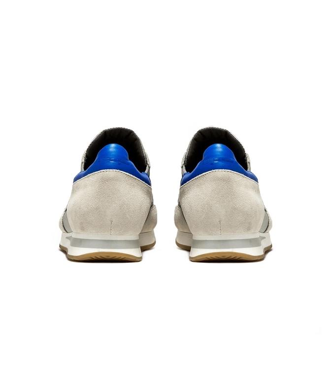 Philippe Model - Scarpe - Sneakers - sneaker in suede tropez mondial gris/bluette 2