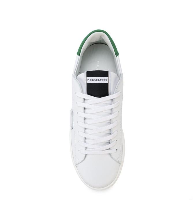 Philippe Model - Scarpe - Sneakers - sneaker in pelle madeleine blanc/vert 1
