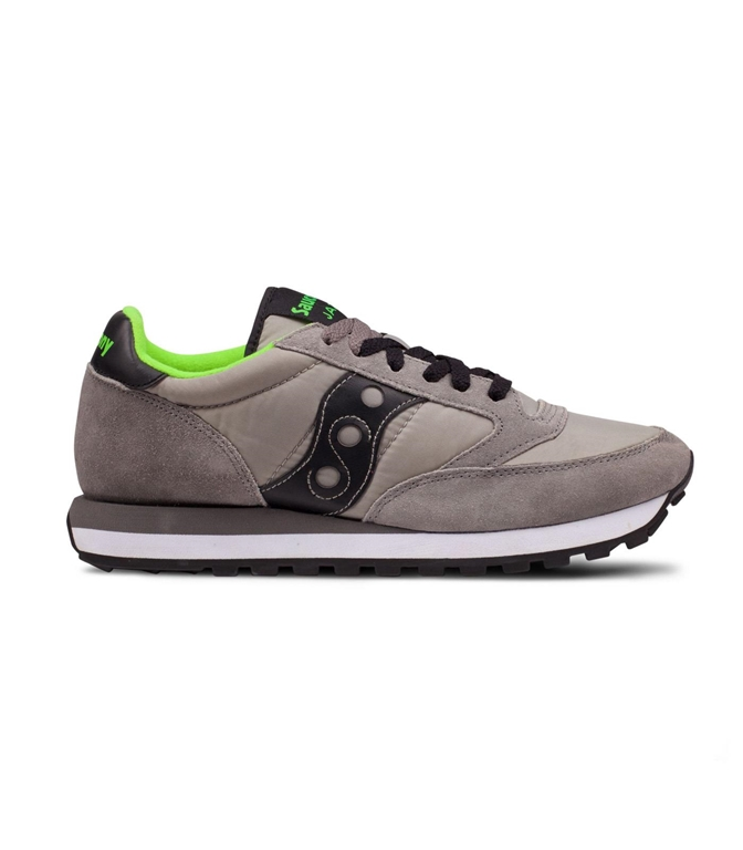 Saucony - Saldi - sneakers jazz o' grey/black/citron