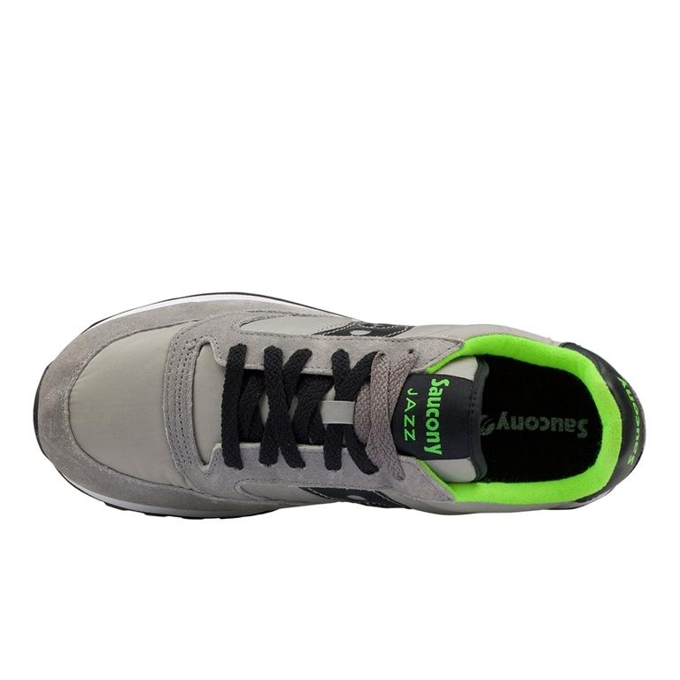 Saucony - Saldi - sneakers jazz o' grey/black/citron 1