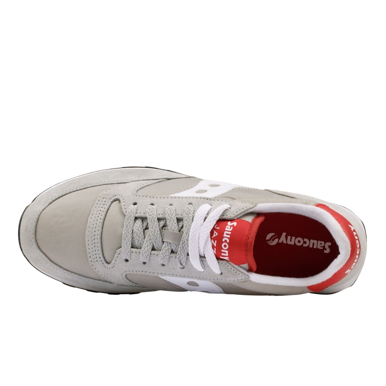 Saucony - Scarpe - Sneakers - sneakers jazz o' grey/white/red 1