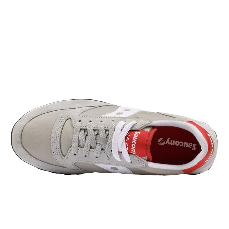 Saucony - Saldi - sneakers jazz o' grey/white/red 1