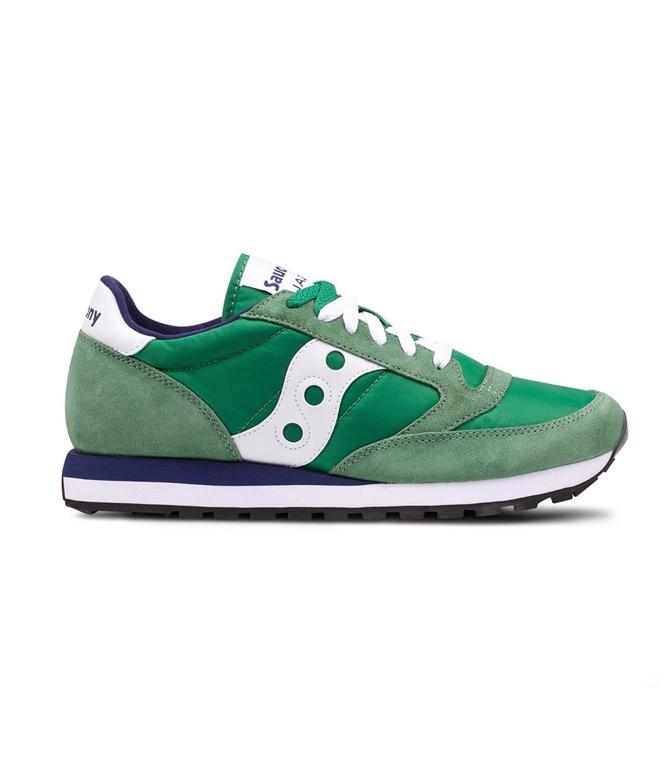 Saucony - Saldi - sneakers jazz o' green/white