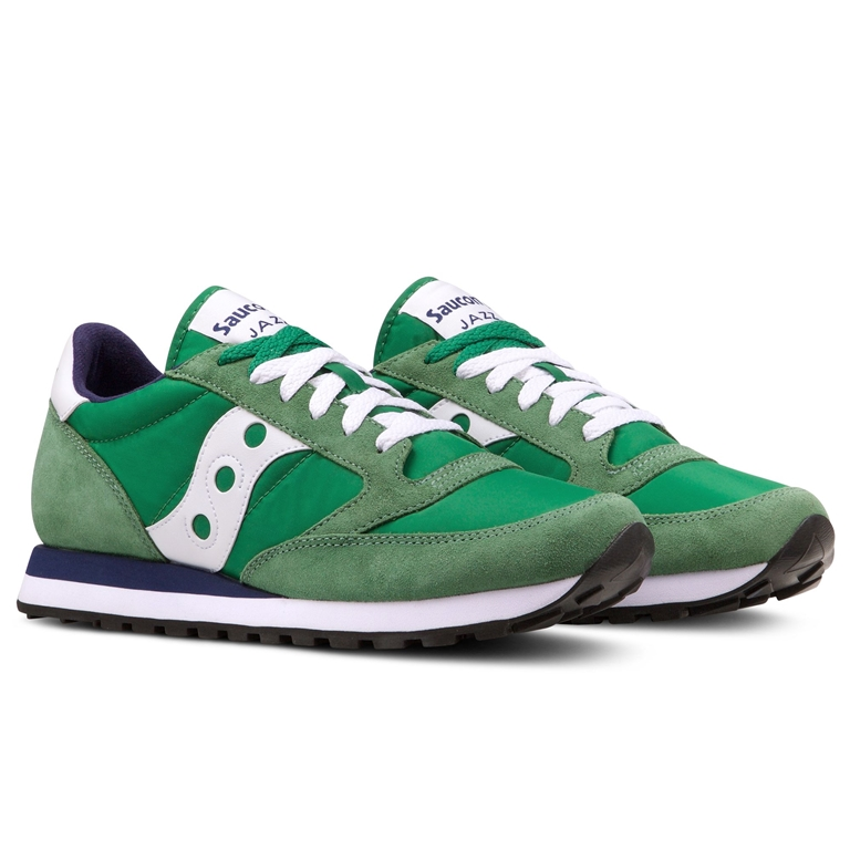 Saucony - Saldi - sneakers jazz o' green/white 1