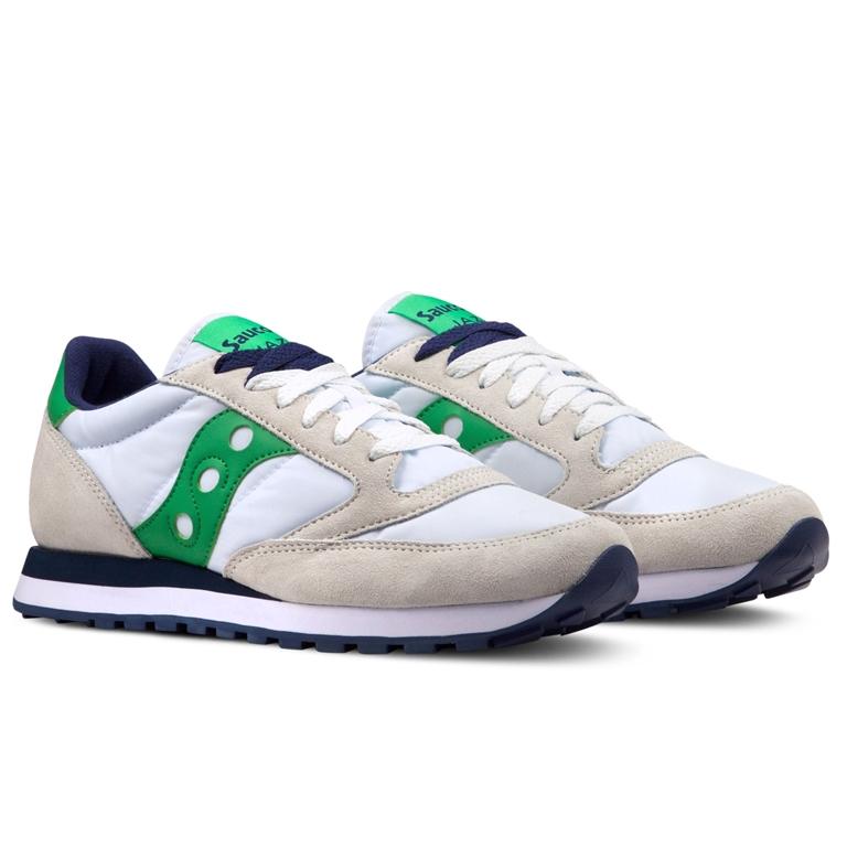 Saucony - Scarpe - Sneakers - sneakers jazz o' white/green 1