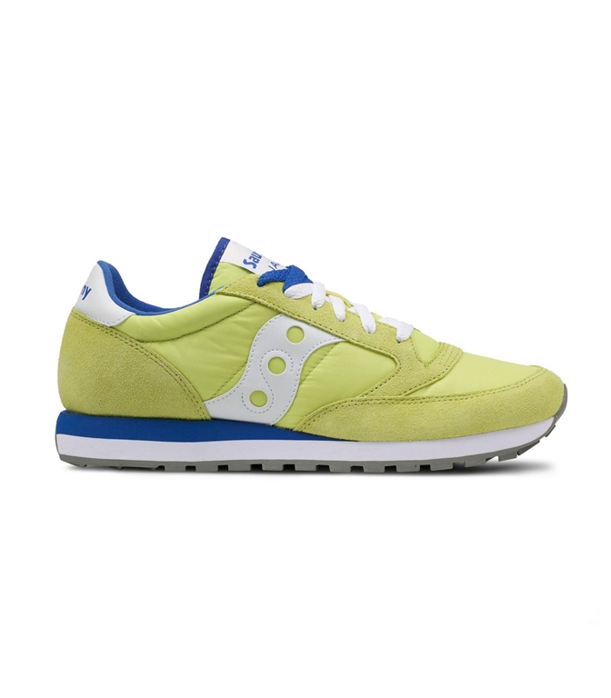 Saucony - Saldi - sneakers jazz o' yellow/blu