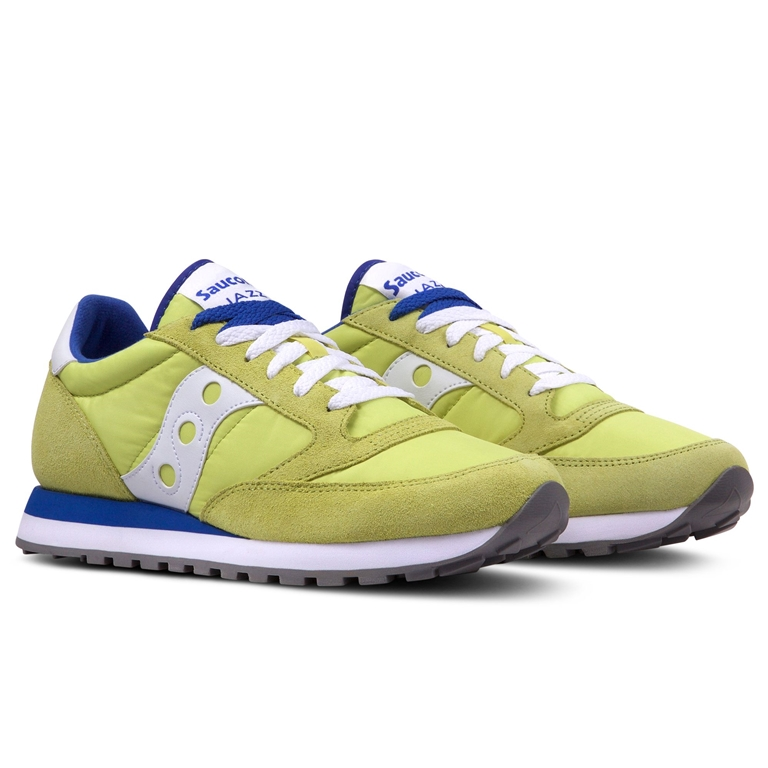 Saucony - Saldi - sneakers jazz o' yellow/blu 1