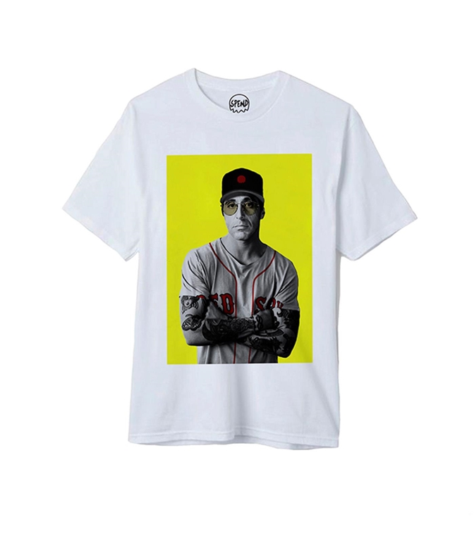 Spend - T-Shirt - al pacino white