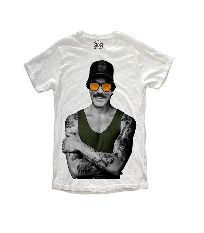 Spend - T-Shirt - magnum white