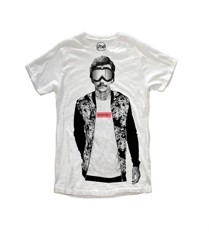 Spend - T-Shirt - pablo snow white