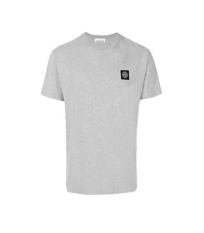 Stone Island - T-Shirt - T-SHIRT COTONE POLVERE