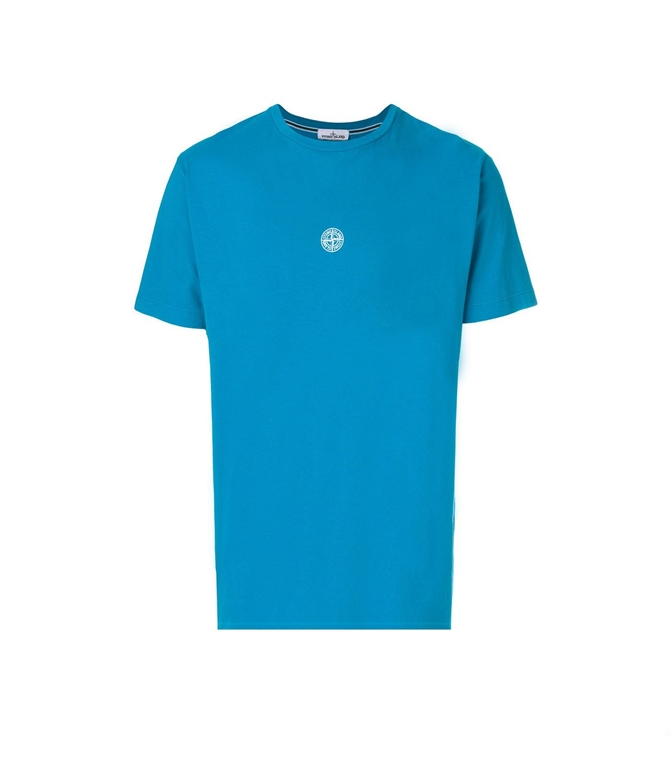 Stone Island - T-Shirt - T-SHIRT GRAPHIC EIGHT OTTANIO