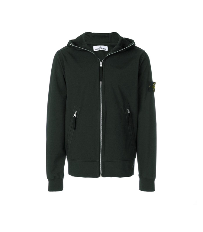 Stone Island - Giubbotti - LIGHT SOFT SHELL-R MUSCHIO