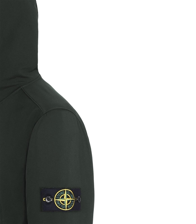 Stone Island - Giubbotti - light soft shell-r muschio 1