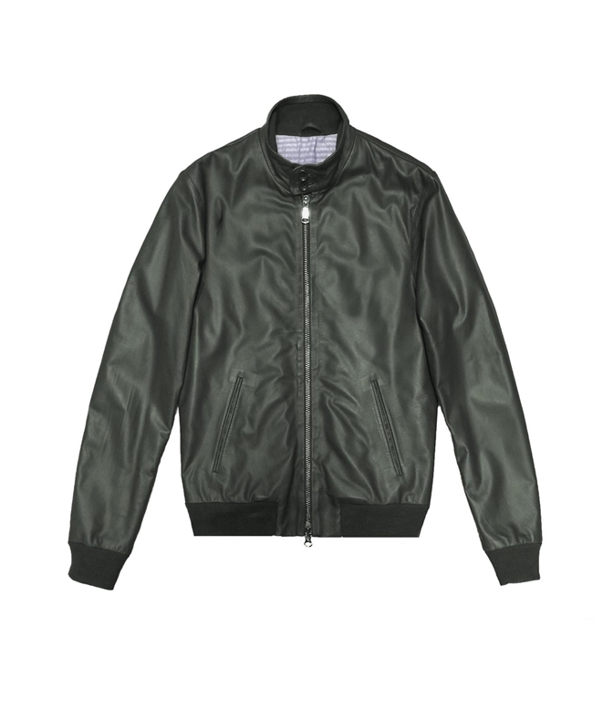 The Jack Leathers - Giubbotti - ELVIS LEATHER JACKET VERDE