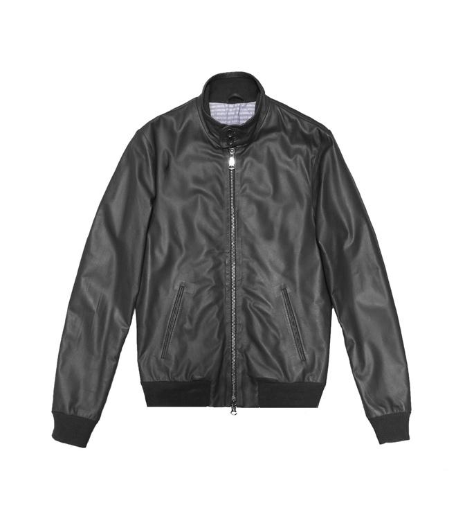 The Jack Leathers - Giubbotti - elvis leather jacket nero