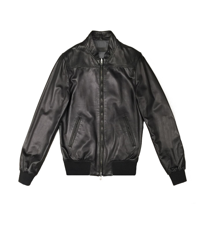 The Jack Leathers - Giubbotti - fresco leather reversible jacket nero