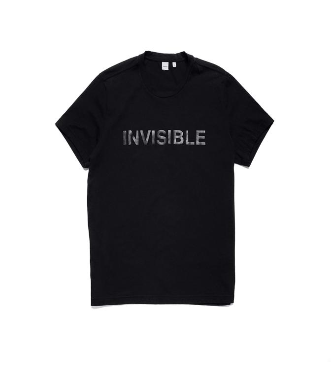 Aspesi - T-Shirt - t-shirt jersey invisibile nera