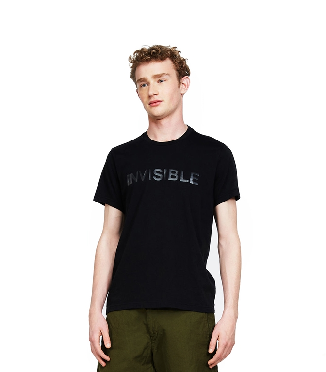 Aspesi - Outlet - t-shirt jersey invisibile nera 1